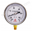 "4"" Allenco Liquid Filled Fire Pump Suction Gauge 30"" Vac-150 PSI"