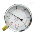 "4"" Dry Utility Fire Pump Suction Gauge  30"" Vac-150 PSI"