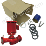 2.5x2.5x9.5F AC Fire Pump 1580 Repair & Repack Kit