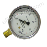 "2-1/2"" Allenco Liquid Filled Gauge"