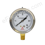 "Calibrated 2-1/2"" 0-30 PSI Allenco Liquid Filled Gauge"