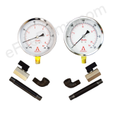 Replacement Fire Pump Suction & Discharge Gauge Kit (Dry)