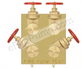 Quote for Flush Fire Pump Test Header