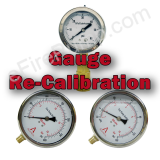 Annual Re-Certification of Calibrated Liquid Filled Gauges