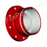 "10""x8"" 150# Groove / Flange Adapter (300 PSI Rating)"