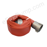 "Allenco 2-1/2"" x 15' Premium Rubber Coated Fire Hose"