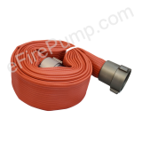 "Allenco 2-1/2"" x 25' Premium Rubber Coated Fire Hose"