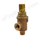 "Kunkle 3/4"" Figure 20 Fire/Jockey Pump Casing Relief Valve - 100-300 PSI"