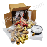 "Allenco Fire & Jockey Pump 1/2"" Sensing Line Kit - Brass"