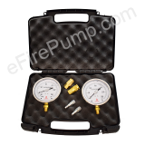 Allenco Fire Pump Suction and Discharge Gauge Kit (Liquid)