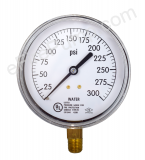 "3-1/2"" Water Gauge 0-300 PSI"