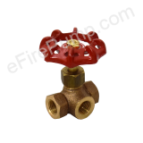 "1/4"" Three-Way Gauge Valve"