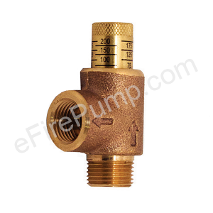 "1/2"" Adjustable Pressure Relief Valve"