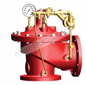 Cla-Val 2050B-4KG1 Fire Pump Angle Relief Valve UL/FM