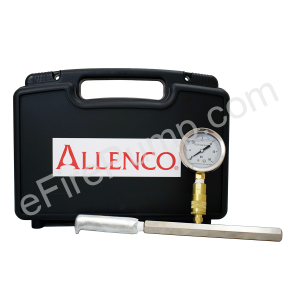 Allenco Flow Testing Pitot Kit with Case, Gauge, Charts